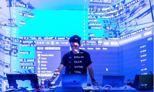 Codes floating around a DJ